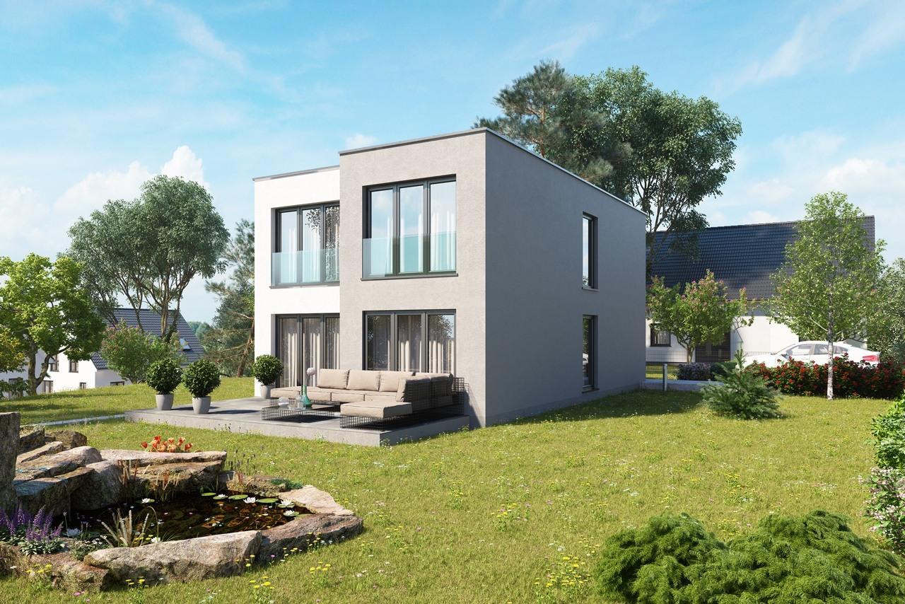 Massivhaus Spree FH145 Bauhaus 01