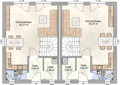 Erdgeschoss DH Rudow